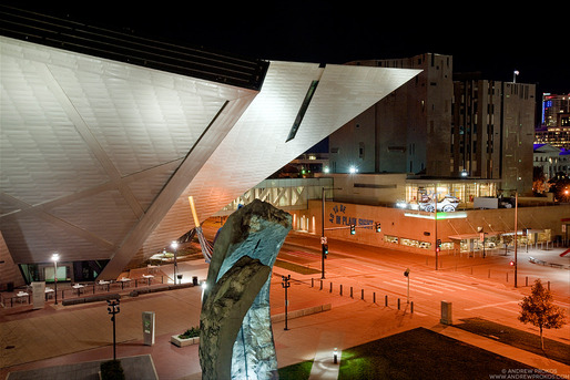 Denver Art Museum. Architects: Studio Daniel Libeskind © Andrew Prokos