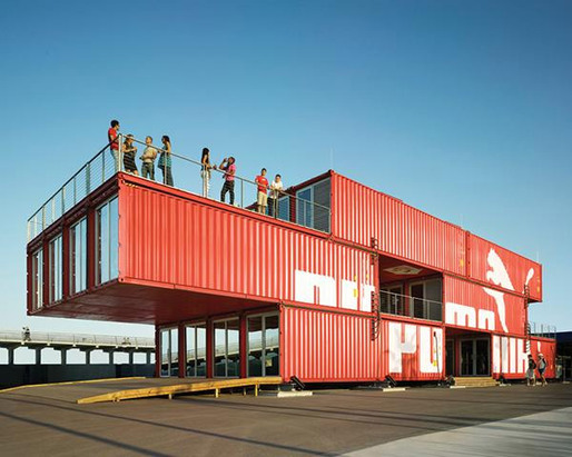 Ada Tolla &amp; Giuseppe Lignano: Puma City, 2008, by LOT-EK; photo credit Danny Bright
