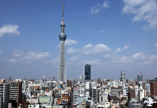 The Tokyo Skytree in Tokyo. Photographer: Haruyoshi Yamaguchi/Bloomberg