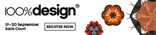 Register now for 100%DESIGN 2014
