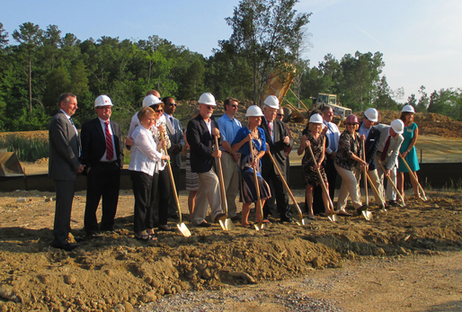 Lexington Richland 5 New Chapin Middle School groundbreaking ceremony.