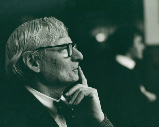 Louis Kahn, ca. 1972. Robert C. Lautman Photography Collection, National Building Museum.