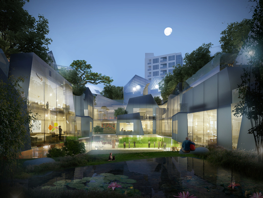 Apartment design for Beverly Hills, courtesy of MAD Architects.