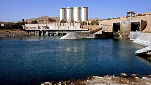 The Mosul Dam in Iraq has been at the center of the recent US intervention against the Islamic State. Credit: Khalid Mohammed / AP news