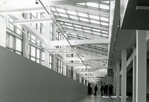 Wexner Center, Gallery at the 1989 opening