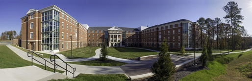 Virginia State University Gateway II Residence Hall. © Richard Boyd.