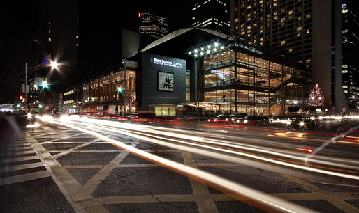 Four Seasons Centre for the Performing Arts, northwest facade, Toronto, ON © Sam Javanrouh