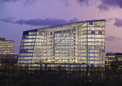 The Deloitte Building, as designed by PLP Architecture.
