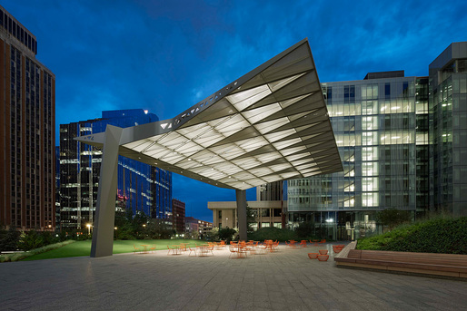SandRidge Commons, Oklahoma City, OK by Rogers Partners. Photo: Timothy Hursley