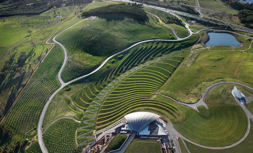 National Arboretum in Canberra, Australia by Taylor Cullity Lethlean + Tonkin Zulaikha Greer. Photograph by John Gollings.