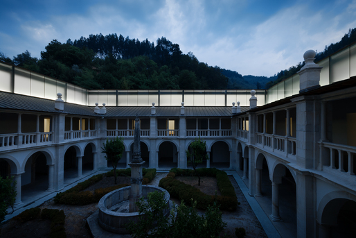 Silence Cloister of the Lorvão Monastery, by João Mendes Ribeiro © 2013 – do mal o menos