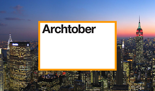 New York City's month-long design festival: Archtober