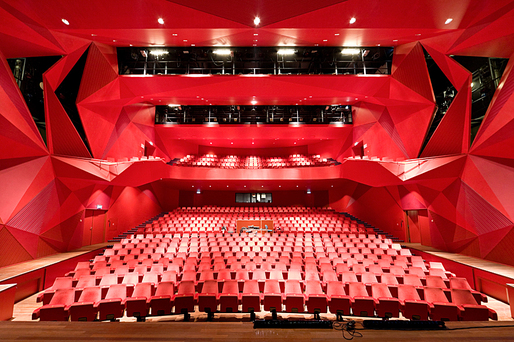 Theatre Agora by UNStudio. Photo: Iwan Baan.