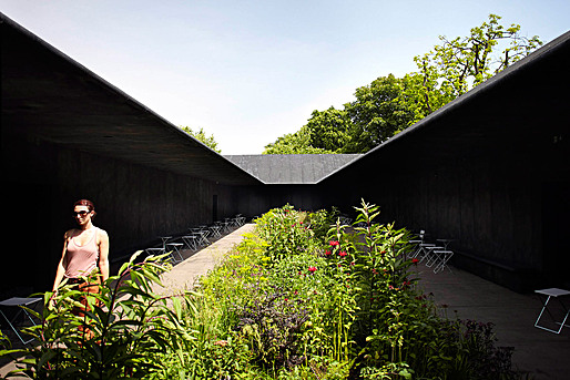 Serpentine Gallery Pavilion 2011, designed by Peter Zumthor  Peter Zumthor, Photo: John Offenbach