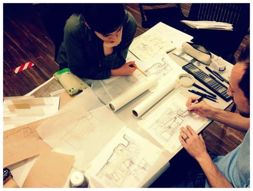 Drawing together: Marcela Trejo &amp; Brian Pickard