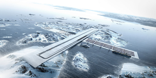 Connecting Greenland: AIR+PORT by BIG in collaboration with TENU, Julie Hardenberg and Inuk Silas Hgh (Image: BIG)