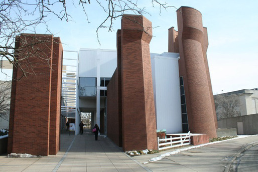 Wexner Center, passage through to High Street