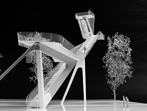 Observation Tower, 'De Onlanden', Groningen, Netherlands, 2011 (Image: UNStudio)