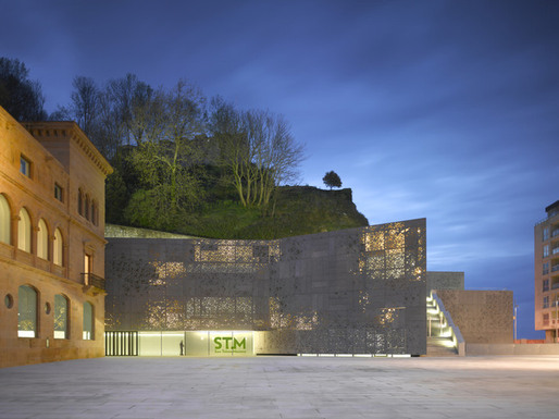 Expansion of the San Telmo Museum by Nieto Sobejano Arquitectos. Photo by Roland Halbe.