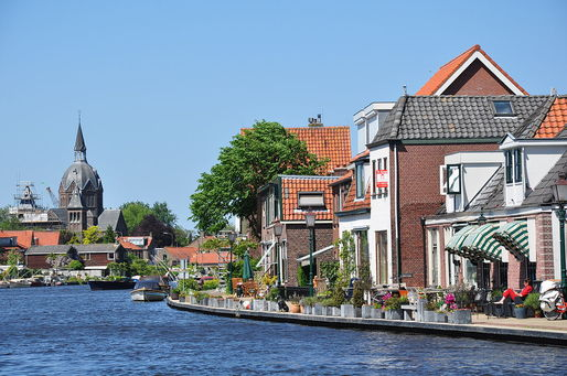 The Netherlands, a low-lying country, is particularly vulnerable to the threat of rising sea levels. Credit: Wikipedia