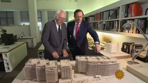 Richard Meier in coversation with Anthony Mason from CBS News