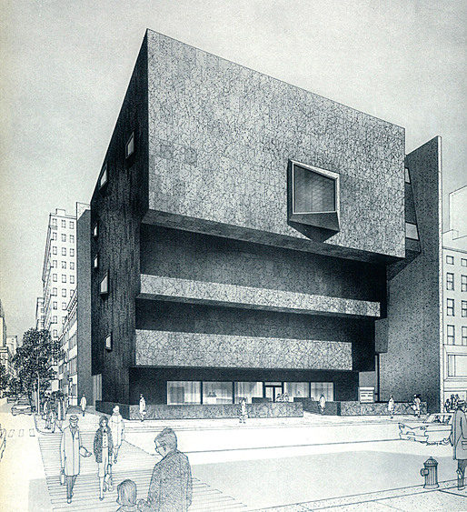 Whitney Museum renderings