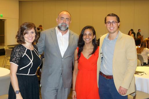 Stefani Fachini, Dean Rodolphe el-Khoury, Nikita Chabra and Christian Lemon