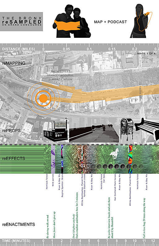 reSampled, Grand Concourse Competition entry (detail); Igor Siddiqui / ISSSStudio in collaboration with Monica Tiulescu