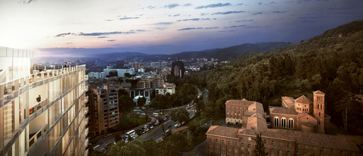 Vitrvm Aerial View - Richard Meier & Partners Architects
