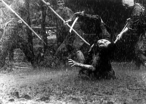 You totally feel the scene and the pain of the Samurai!