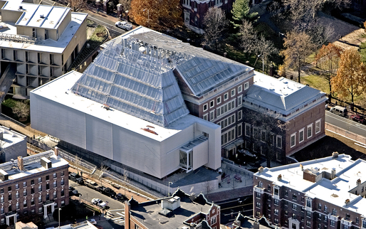 The Harvard Art museums under construction. Via: ArtNews