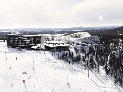 Overall view of BIG's proposed Koutalaki Ski Village (Image: BIG)