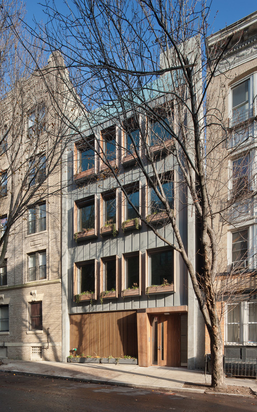 253 Pacific Street in its Brooklyn neighborhood setting (Photo: James Cleary Architecture)