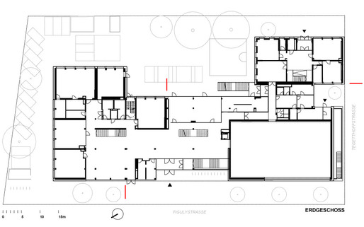 First floor plan (Image: KIRSCH Architecture)