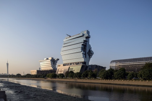 Nanfung Commercial, Hospitality and Exhibition Complex, Guangzhou, China, by Andrew Bromberg of Aedas