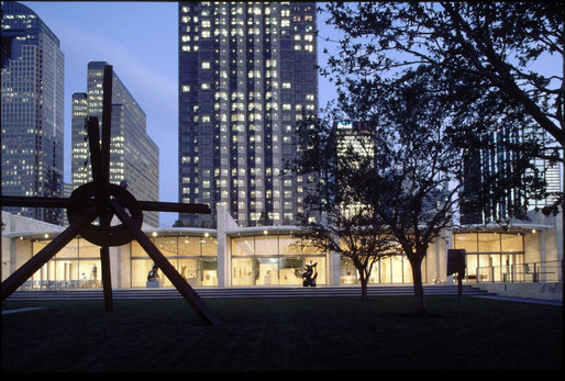 Nasher Sculpture Center in the Dallas Arts District