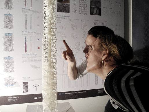 Moritz Fleischmann & Cordula Vielhauer (Detail Research) taking a closer look. (Photo: R. Sladek)