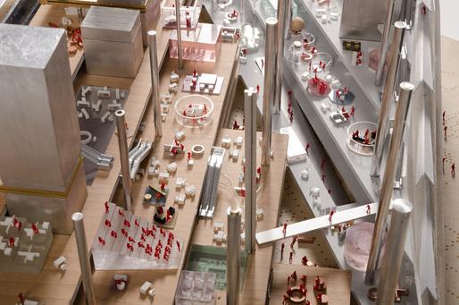 طرح گروه OMA از ساختمان رسانه ای برلین