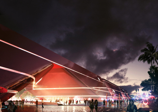 Mecanoo's Cultural Complex in Shenzhen is scheduled to begin construction. Image courtesy of Mecanoo.