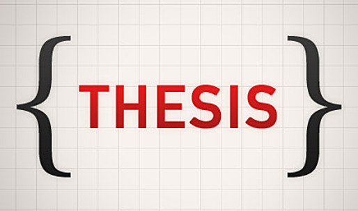 thesis on how a