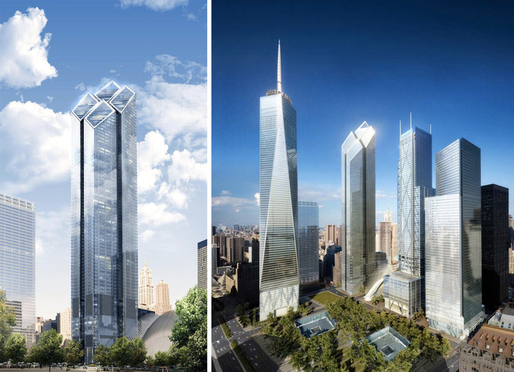Norman Foster's proposed design for Two World Trade Center