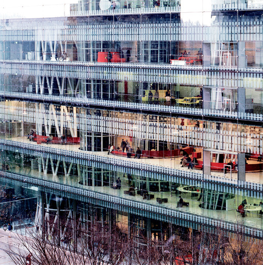 Toyo Ito & Associates, Sendai Mediatheque, 2001, Sendai, Miyagi, Japan. Photo: Tomio Ohashi.