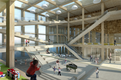 Pinewood Library Design For New Helsinki Public Library