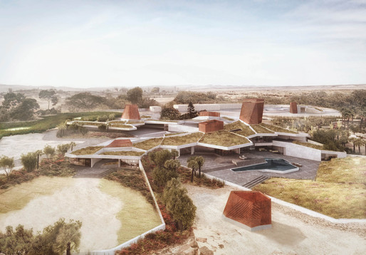 Seed House - AGi architects. © The 3D Bakery