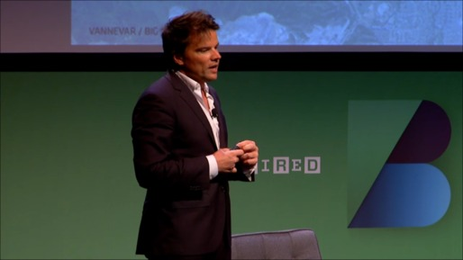 Bjarke Ingels at the WIRED Business Conference (screenshot of livestream courtesy Archinect).