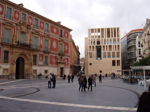 Rafael Moneo: Murcia City Hall on the Cardenal Belluga Plaza, 1998