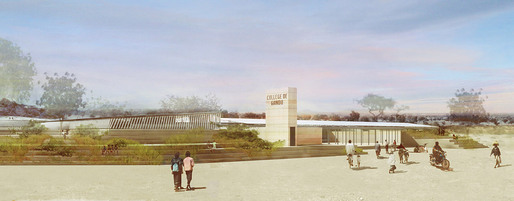 Global Holcim Awards 2012 Gold: Secondary school with passive ventilation system, Gando, Burkina Faso by Dibdo Francis Kr, Kr Architecture, Germany (Image  Holcim Foundation)