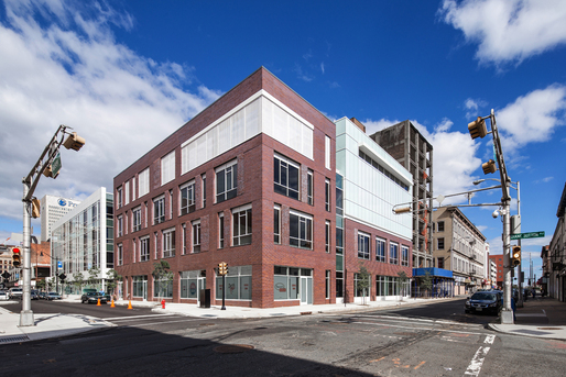 richard meier completes 230 halsey street in newark new