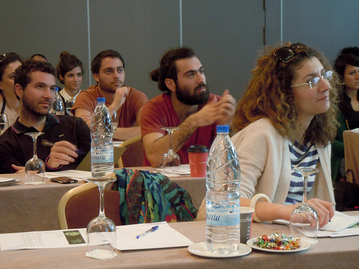 Processing tutorials during AA Athens 2013 (Photo: Alexandros Kallegias)
