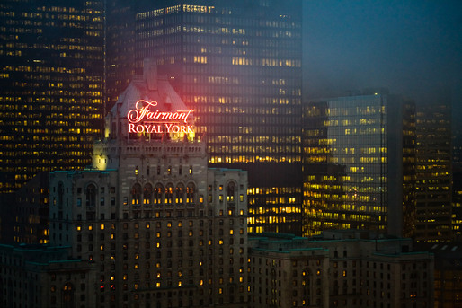 The Fairmont Royal York Hotel, Toronto, ON © Sam Javanrouh